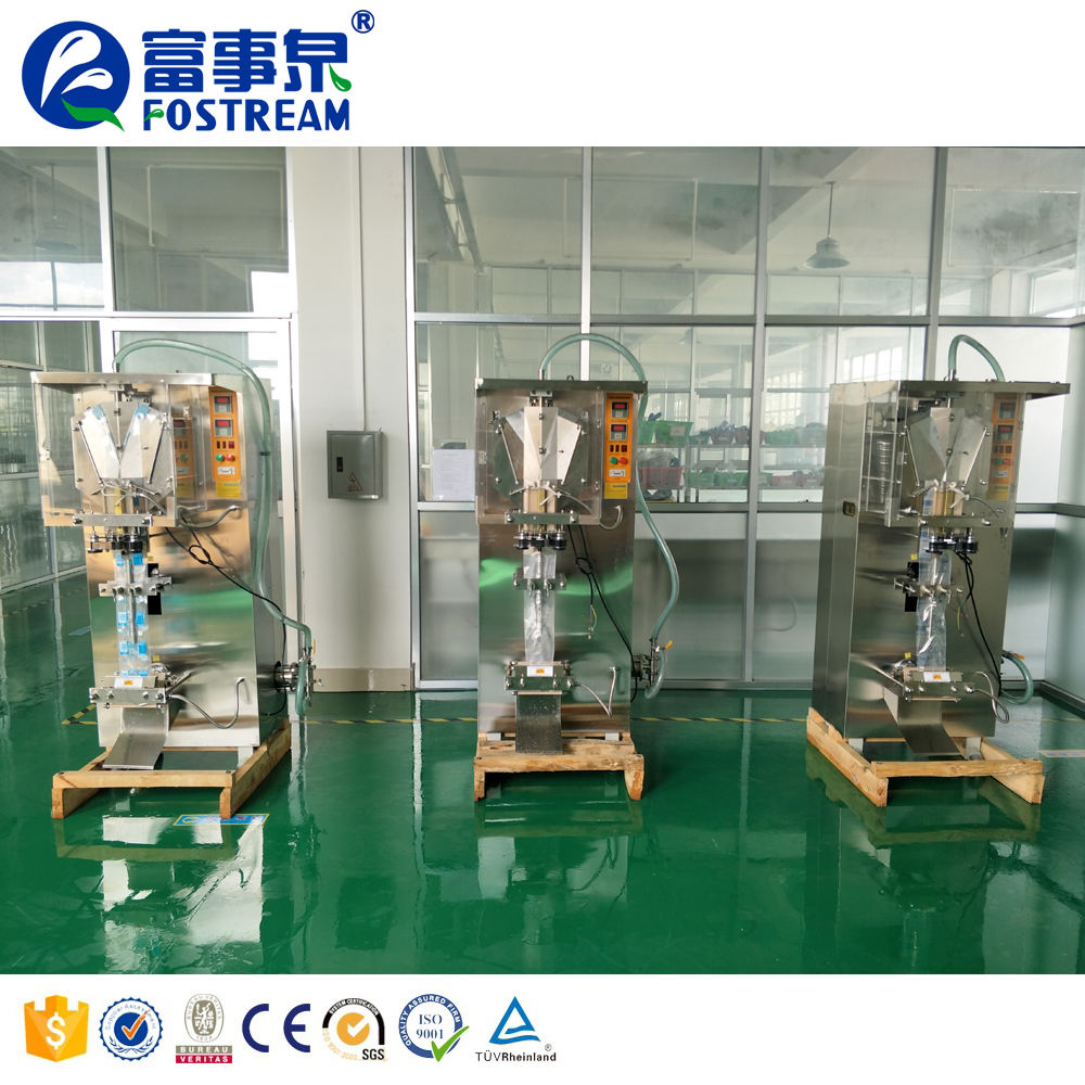 Full Automatic Bagging Form Fill Seal Sachet Water Drinking Pure Water Packing Machine / Liquid Filling Machine