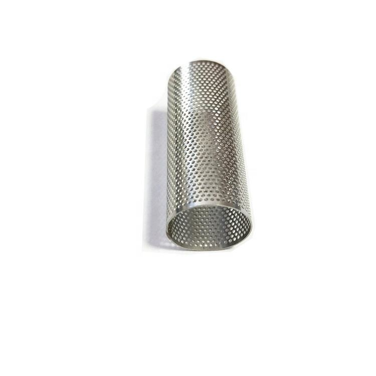 Direct sales hot selling orifice mesh 100 micron stainless steel filter tube