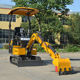 Earthmoving Machinery Electric Mini Excavator Digger Mini Excavator Brands