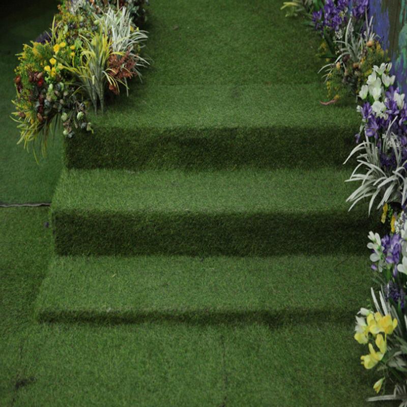 High quality 40mm PE artificial grass turf for garden landscape