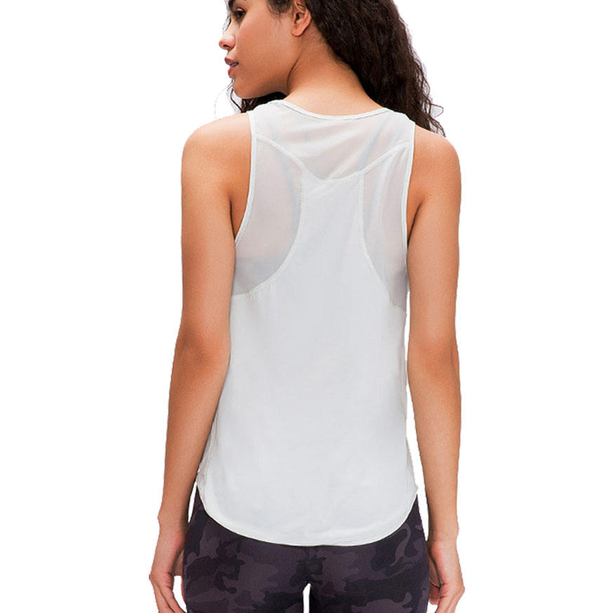 Women's Super Soft Cooling Comfortable Relaxed Workout Athletic Tank Top