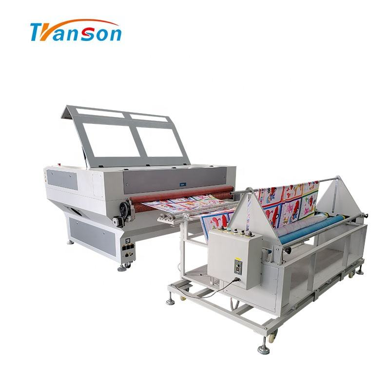 60W 90W 100W 130W 150W TS1610F Auto Feeding Machine pcd Laser Engraving Machine