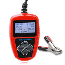 Lead Acid Battery Tester Solar Battery Analyzer 12V Car BatteryTester
