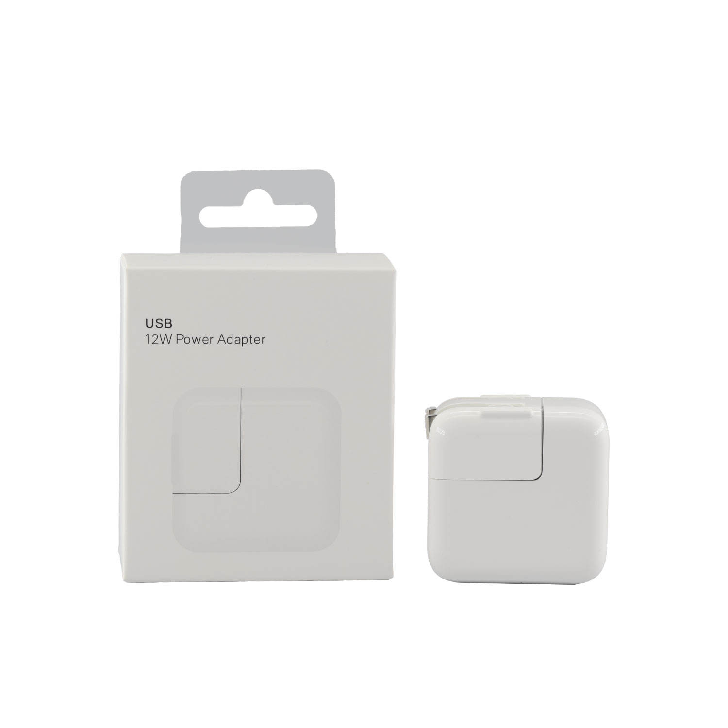 Retail pack original 12w power adapter wall charger travel us pin plug duckhead for Iphone and tablet pad 5 6 7 8 xs USB pro