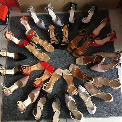 GZY wholesale big number of ladies shoes sandals