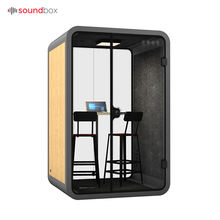 Best after-sales service high quality interpreter booth modern office furniture for small spaces
