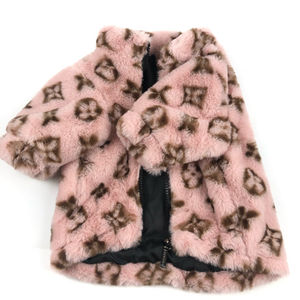 New Design Winter Warm And Thick Pet Coat Dog Clothes