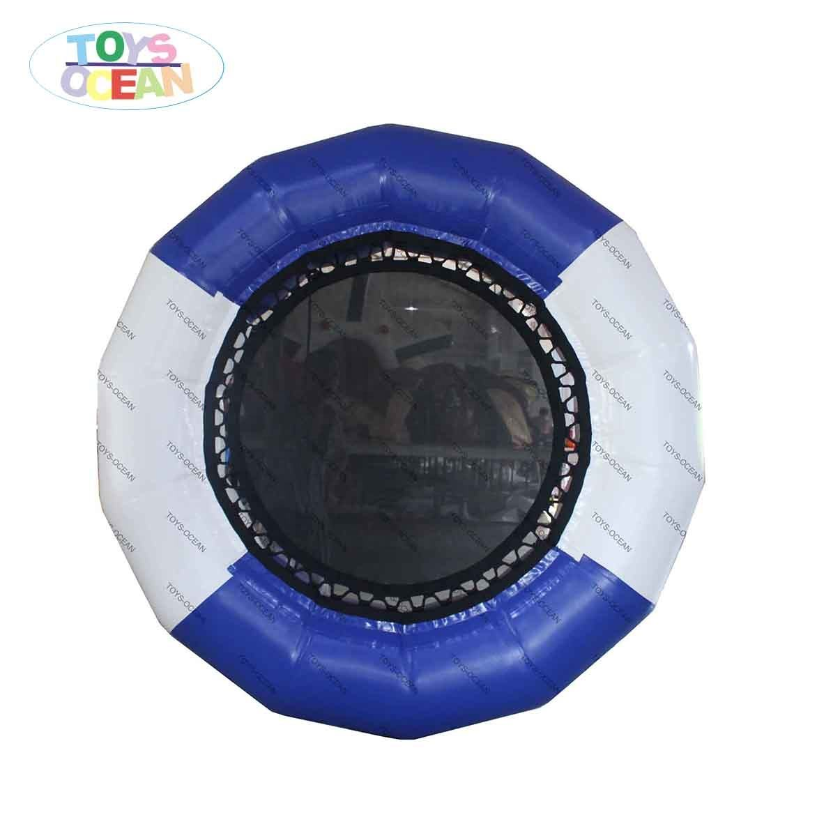 Inflatable Water Park Toys Floating Jumping Trampoline Play Equipment