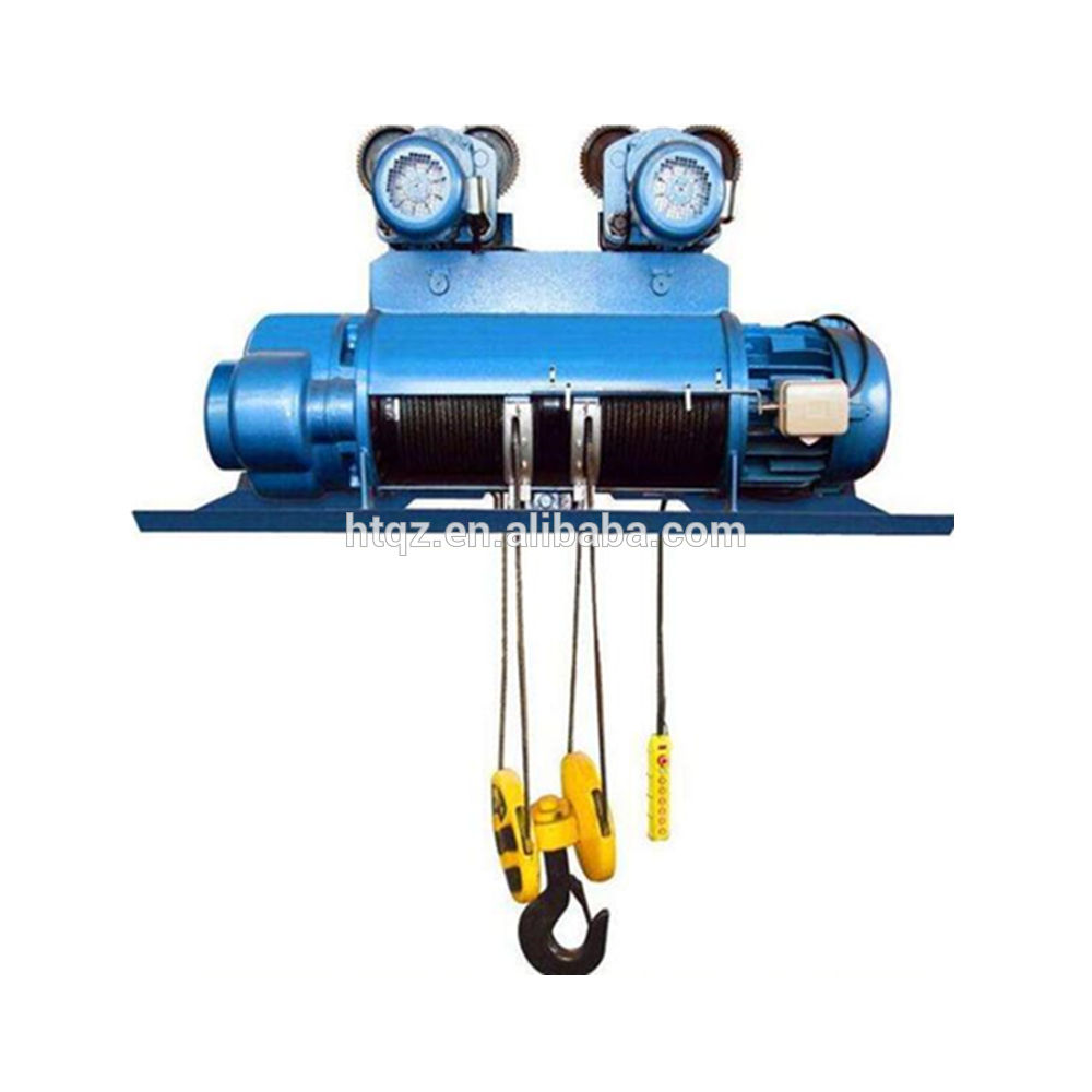 2t electric hoist for sale 110v 200kg electric wire rope winch hoist
