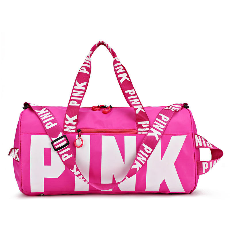 2021 Large Pink Crossbody Sports Purses and Handbags Cheap Waterproof Women Gym Yoga Bag Big Outdoor Nylon Travel Bags Ladies