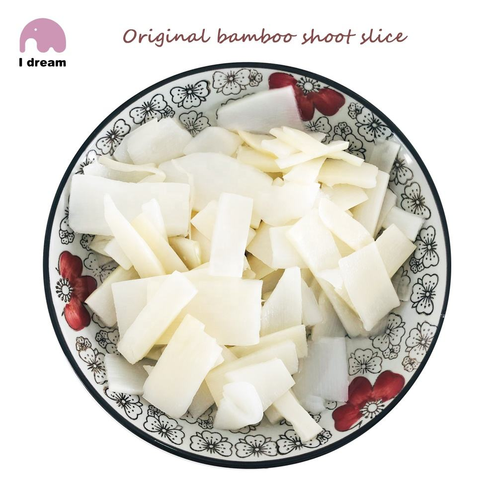 Original bamboo shoot slice in brine bulk sale canned vegetables