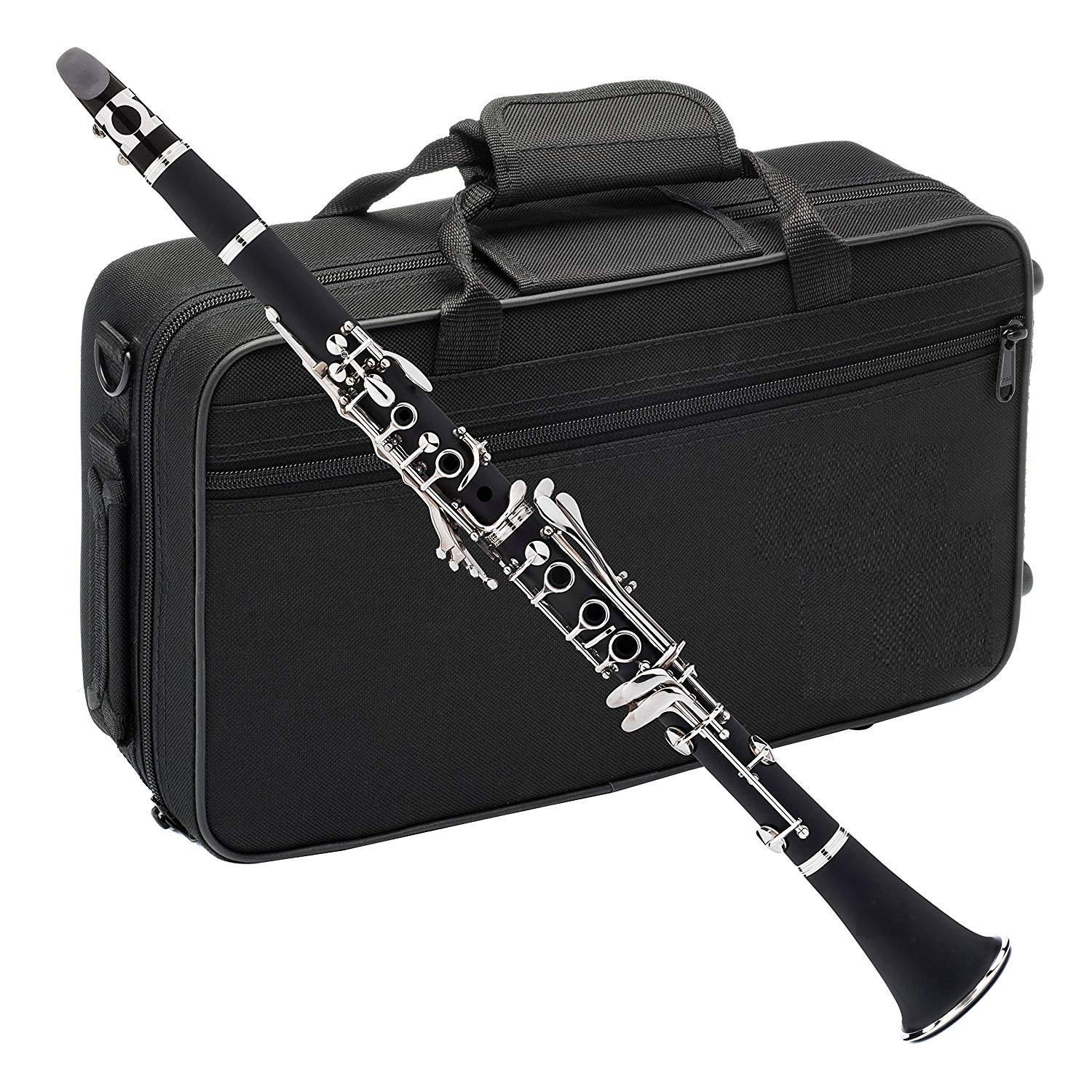Clarinet HCL-102 professional factory made level Woodwind instrument