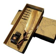 2020 New antique style pen set as business premiums and gift