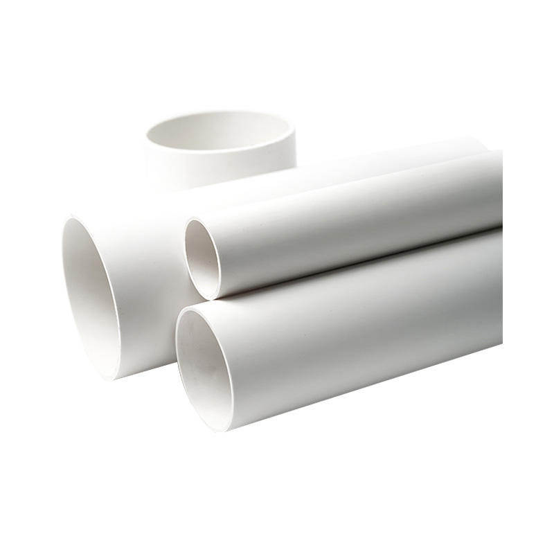 China Fabricar Pvcm Pvcu 63mm Pn10 4 Polegadas Barato Decorativo Tampa Da Tubulação do Pvc