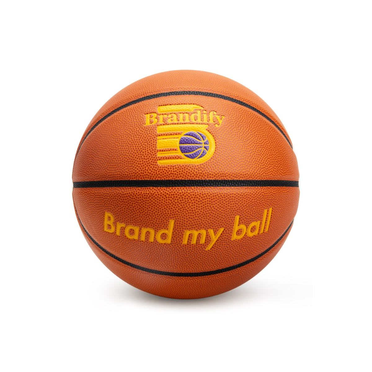 Custom orange chinese microfiber leather similar to evo basketball ball for sale in good price