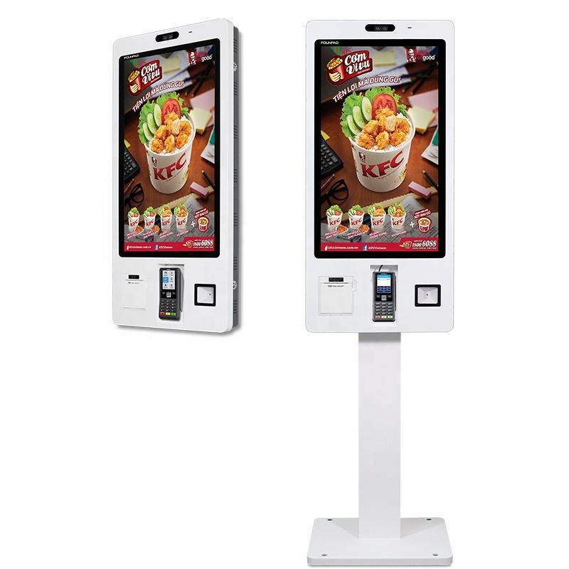 Software Cloud Server Manage Menu All In One POS Payment Ordering Food Restaurant Self Service Kiosk