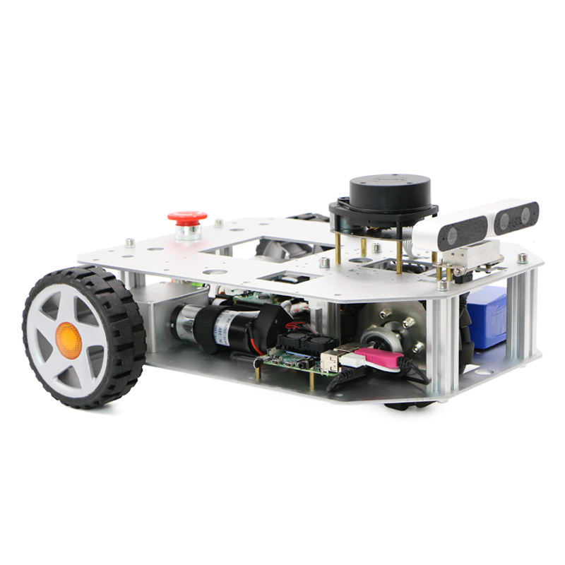 Two-wheel differential robot car chassis SLAM ROS lidar unmanned car navigation