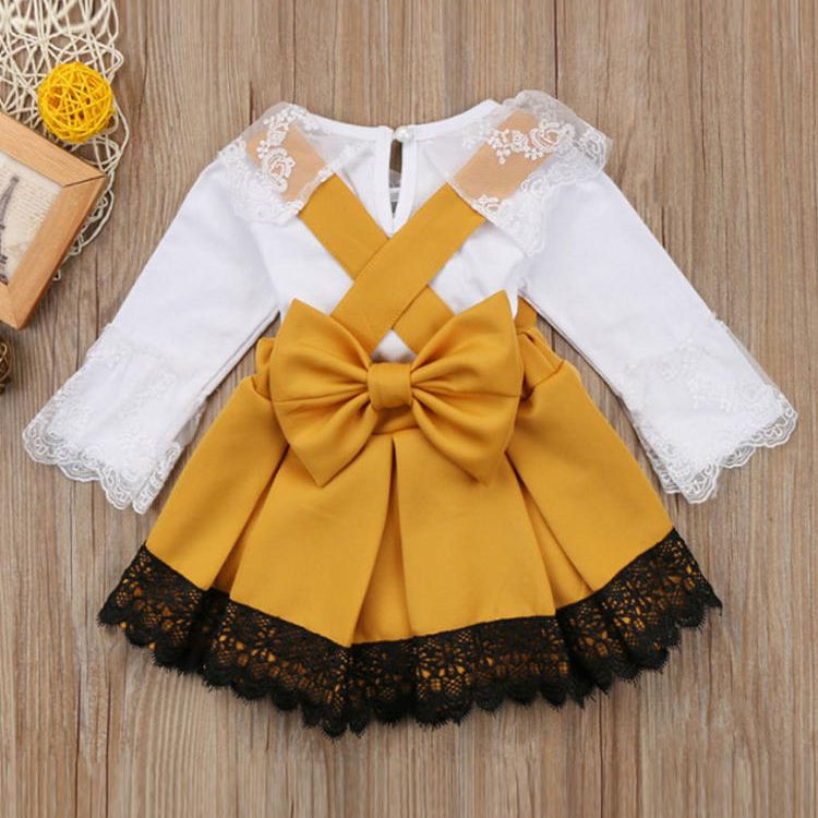 2019 children kids clothes party baby girl dresses