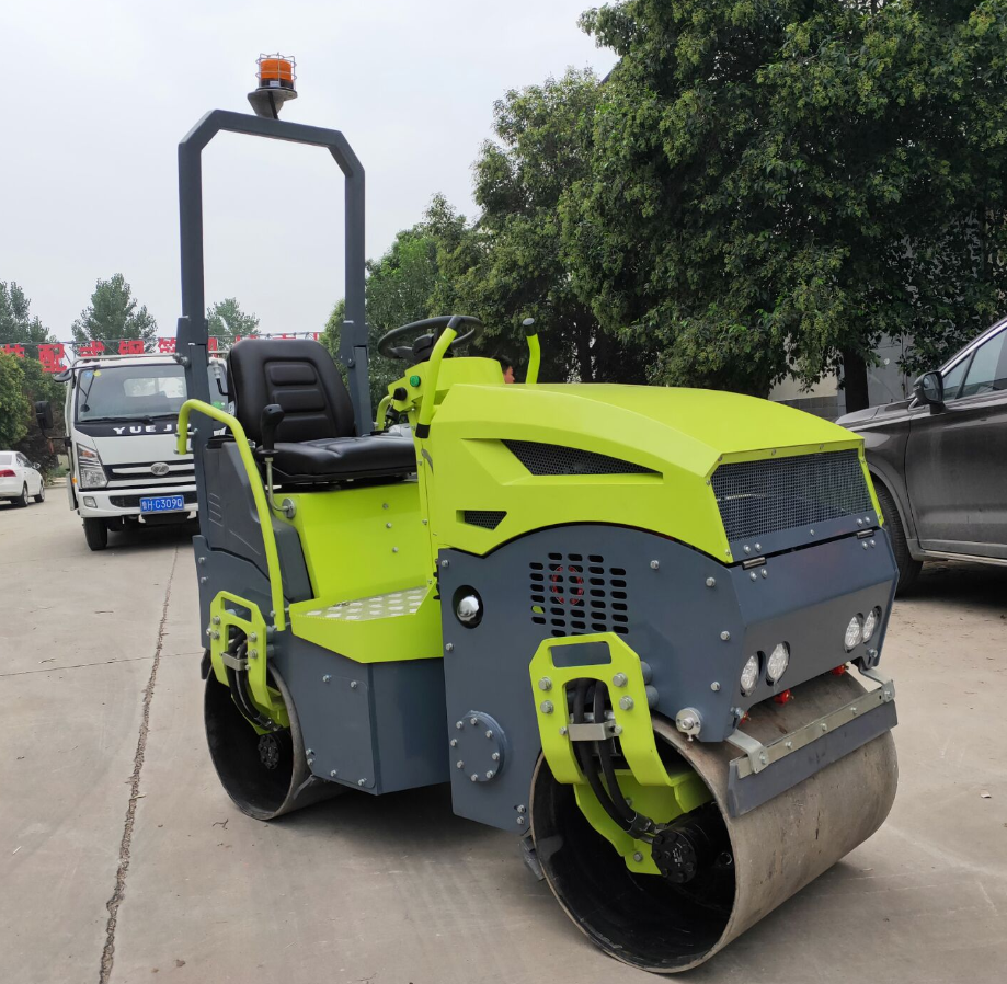 1 Ton Hydraulic Used Baby Roller Compactor Machine