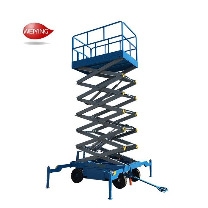 scissor lift table 4m 6m 8m 10m 400 kg lifter machine for cars loading platform