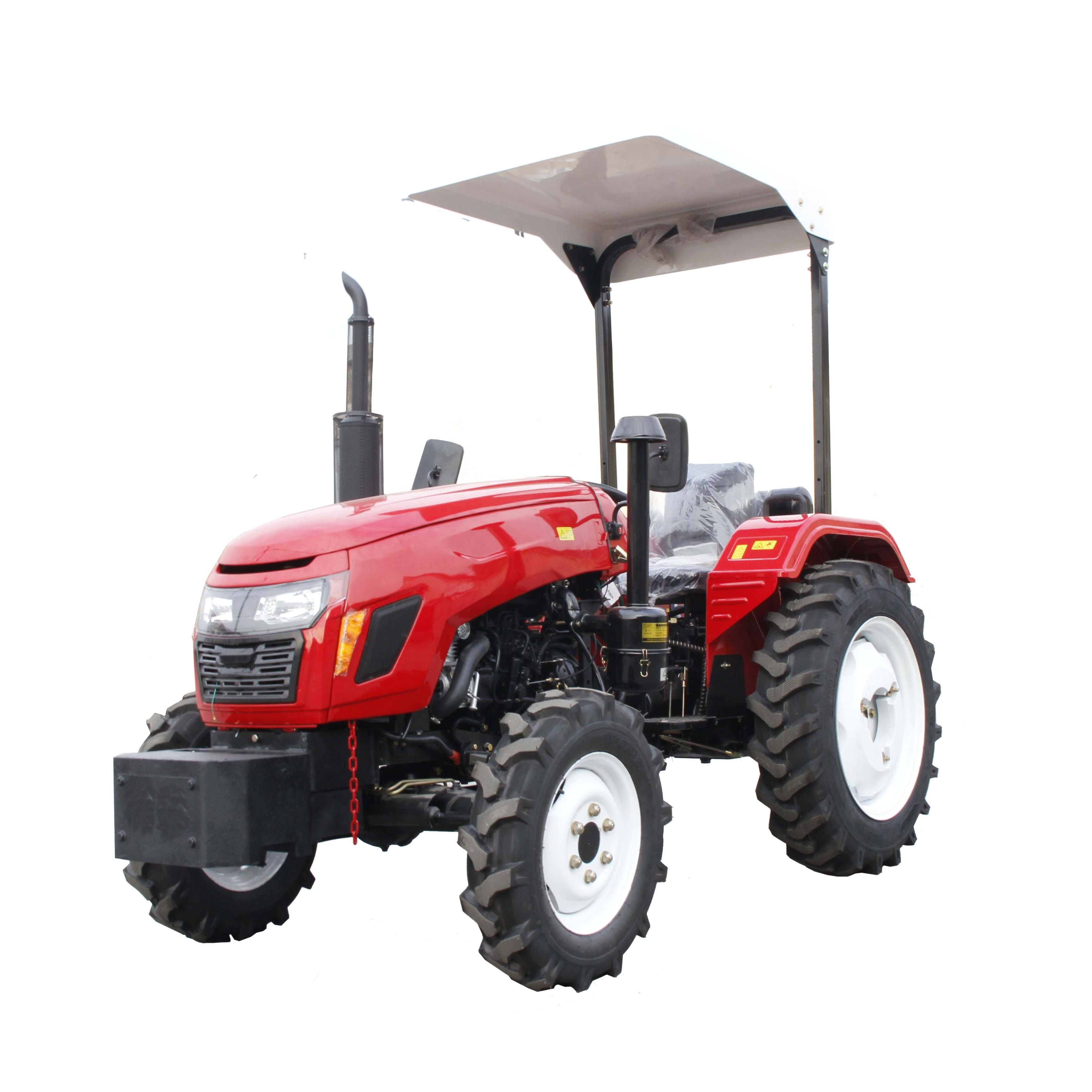 80hp 4wd farm tractor prices 4wd traktor 4x4 trailer mini 85hp agricultural farming tractor