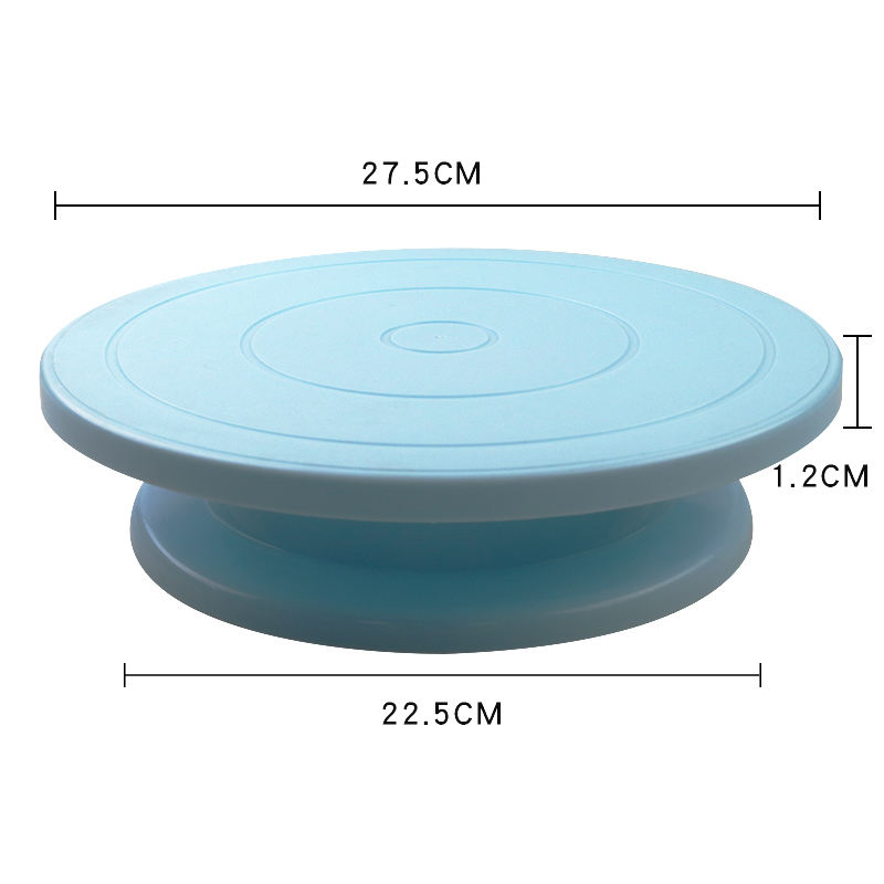 10 Inch Anti-skid Cake Turntable Rotating Round Cake Stand Decorating Tools Cake Rotary Turn Table