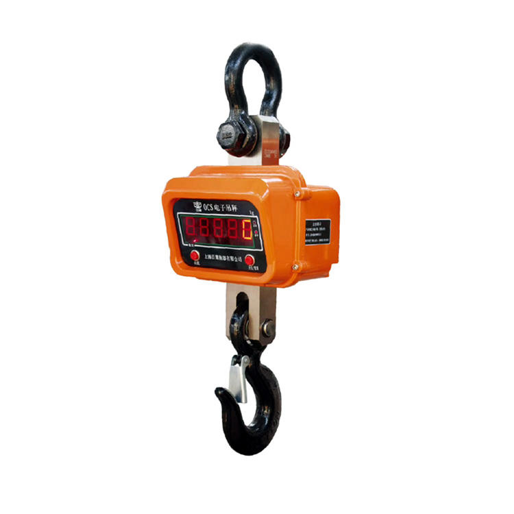 electronic weighing crane scales 30t bluetooth waterproof