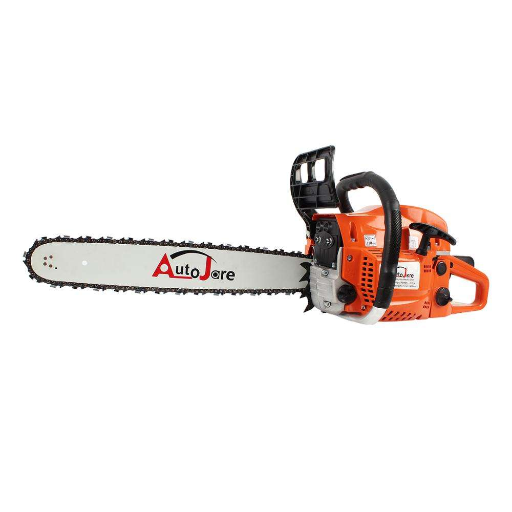 chinese chain saw 20 inch 5200 gasoline professional chainsaw