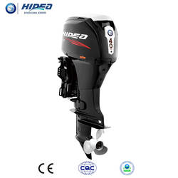 Hidea CE Approved EFI 40hp Outboard Engine Electronic Fuel Injection  for Sale F40 Black engine motor Mannul/Electric Motor