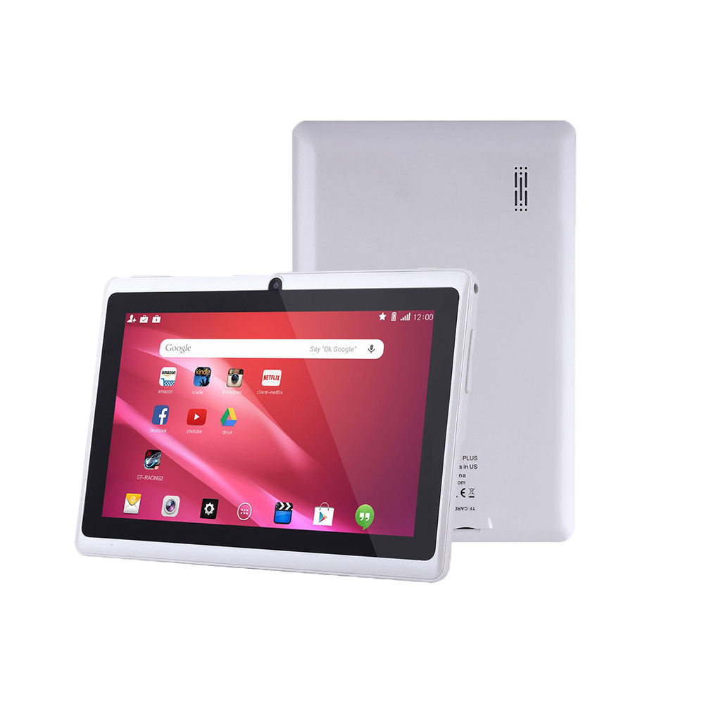 7inch HD LCD wifi nur tablet pc 8GB speicher android 9.0 kinder tablet pc modell: q88 MTK6582 QUAD CORD dual kamera