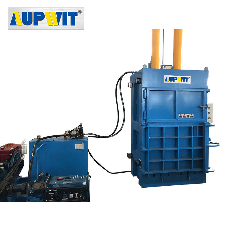 1 Year Warranty Supplier Machine Hydraulic Cardboard Baler Machine Automatic Baling Machinery