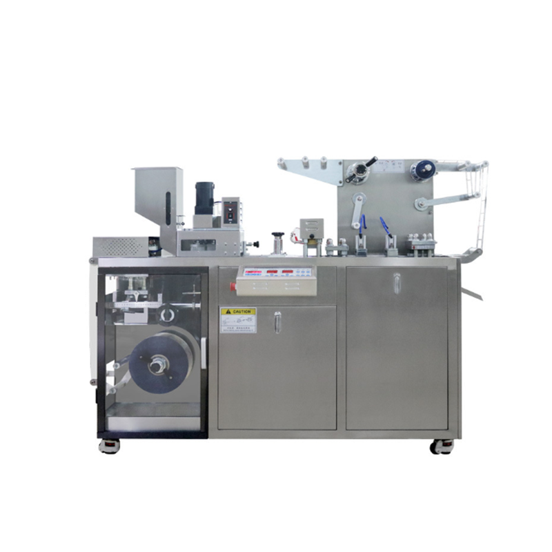 Manual micro sd card blister packing machine with 3 moulds