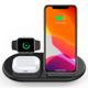For Wireless Charger Samsung For IPhone Wireless Charger Cargador De Celular For Samsung Phone Charger 3 In 1 Wireless Charger