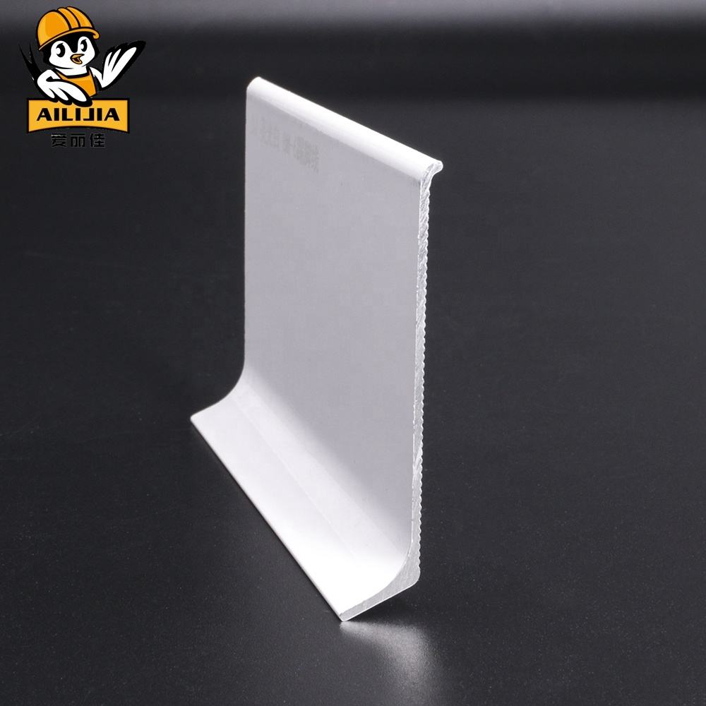 Bright White Wall Aluminium Skirting Board Protectors
