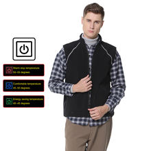 Best Heated Work Workwear Vest Winter Cotton Heated Sleeveless Fleece Vest