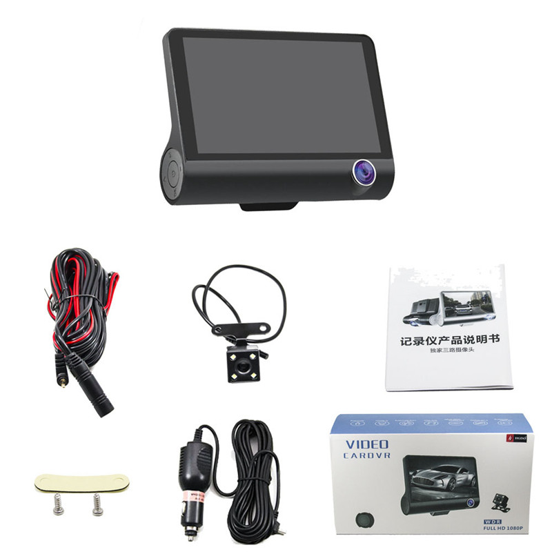 2020 Best selling products 1080p manual car camera hd dvr with wdr hd car dvr user manual Double recorded before and after