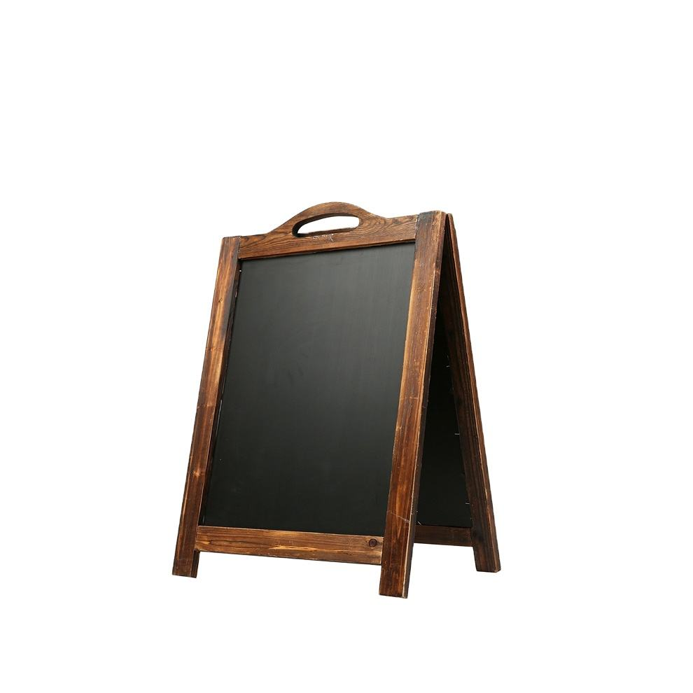 A-board Pavement Sign Menu Sandwich Board Advertising Double Sided