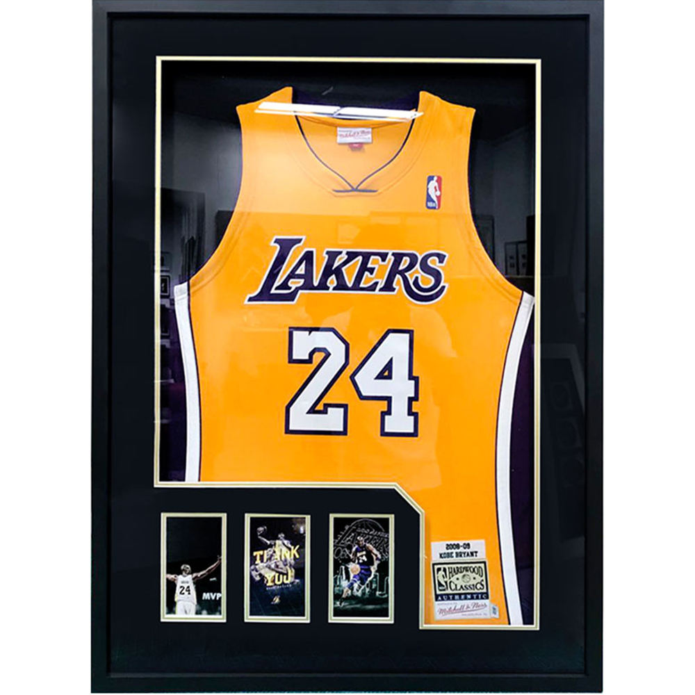 Amazon Hot Selling Clear Acrylic Football Baseball NBA Basketball Picture Photo Display Aluminum Jersey Frame