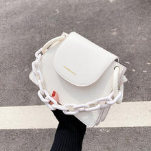 New Arrivals 2020 Fashion Spring and Summer Mini Square Korean One Shoulder Chain Women Crossbodys Handbags
