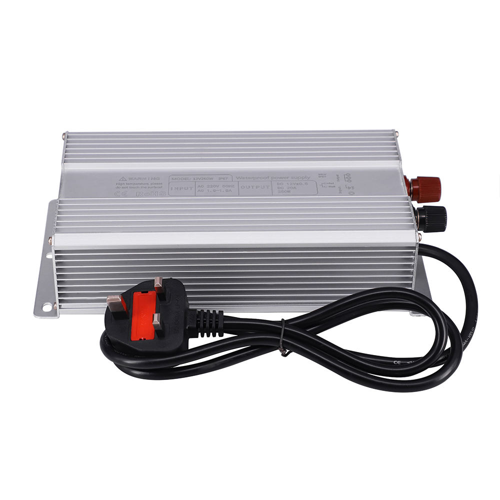 IP68 250W 20A 12V Waterproof Led Electrical Equipment Power Supply 12V20a LED driver