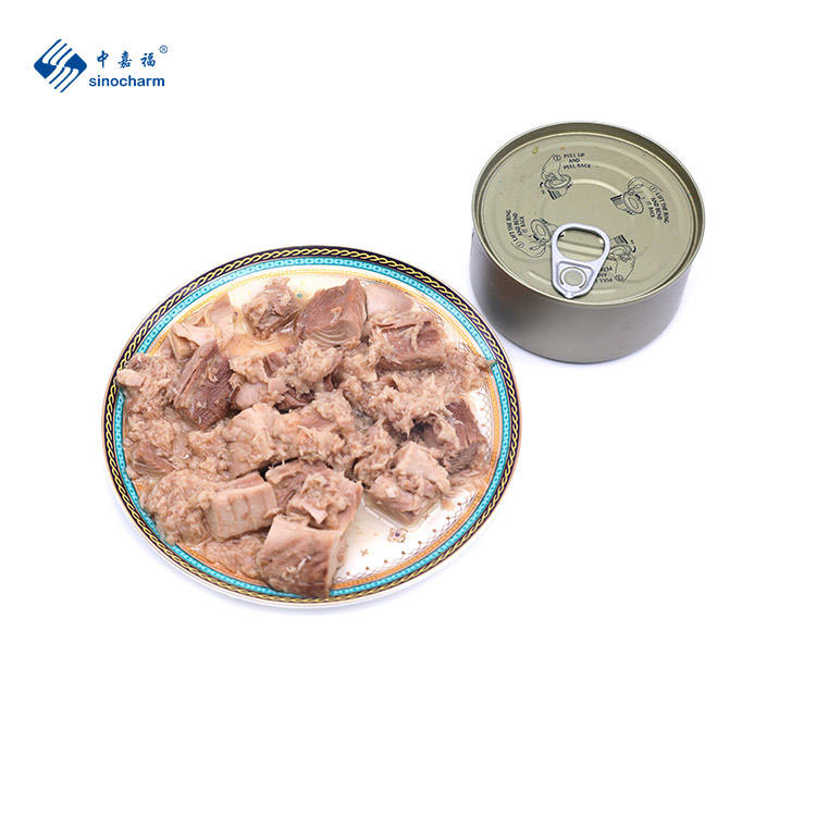 Canned Seafood Canned Tuna Chunk in Vegetable/Sunflower Oil