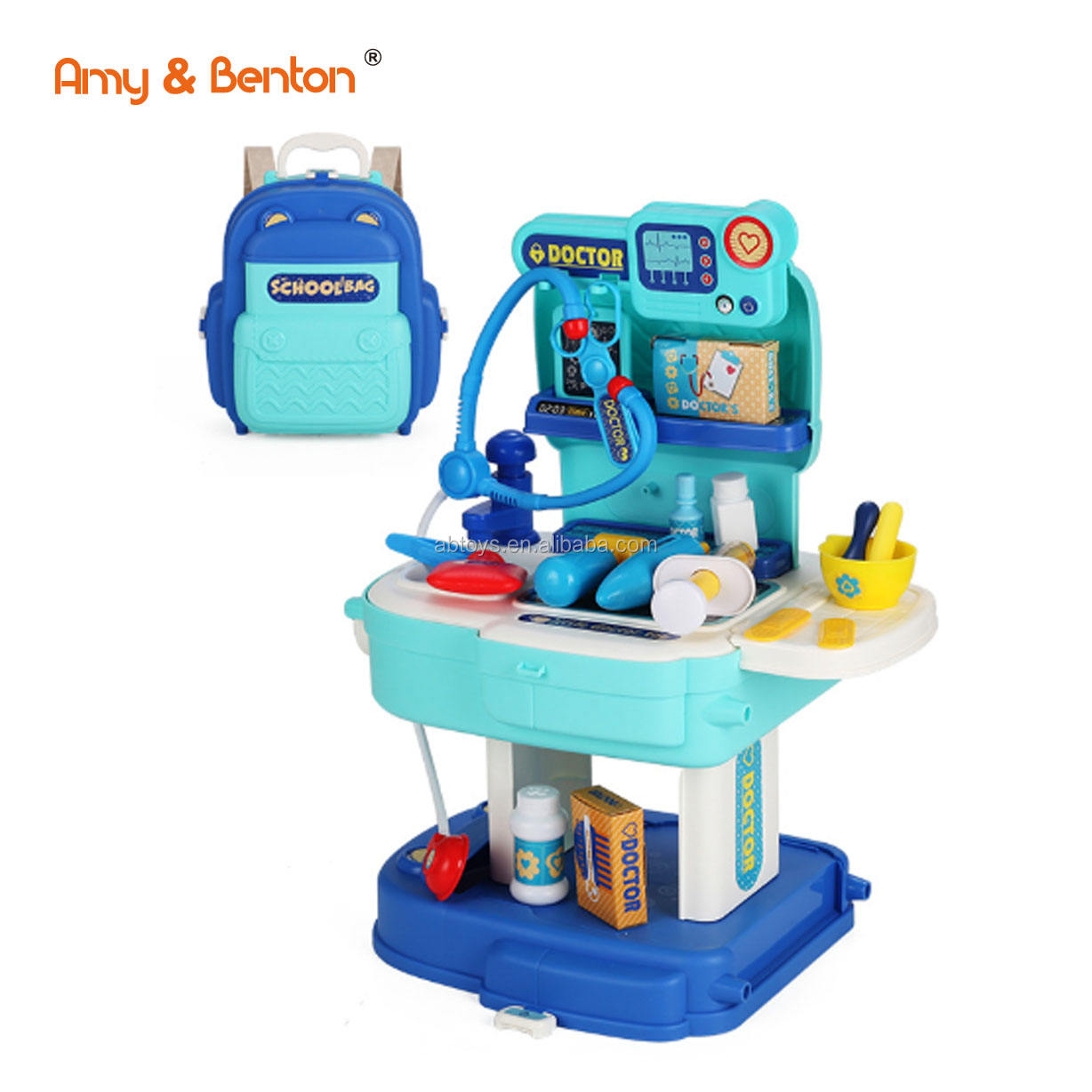 Amazon Best Selling Kids Doctors Toy Play Set Kits For Baby