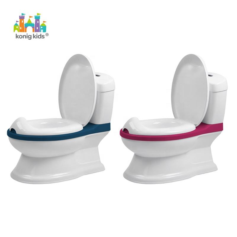 New 2020 Konig Kids Multicolor Potty Training Seat Toilet For Babies Eco-Friendly Baby Potty Chair