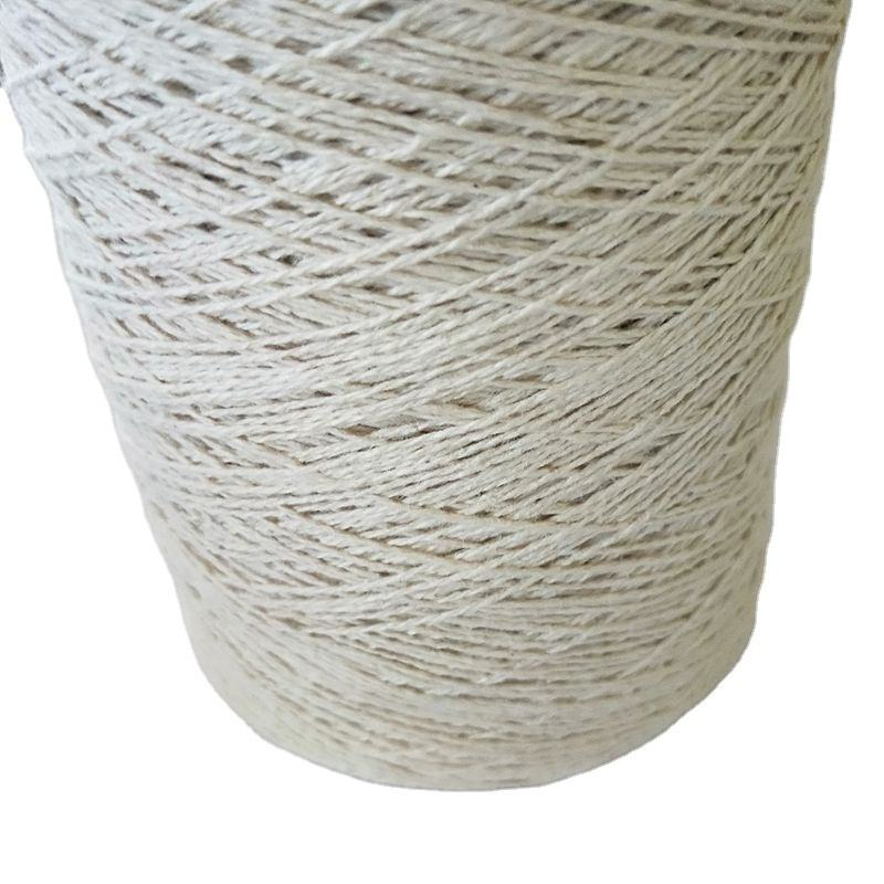 Manufacturer healthy 100% hemp yarn for carpets rugs