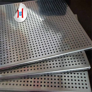 Metal mesh stainless steel perforated sheet 321