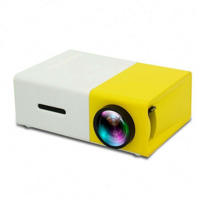 Video Projector Factory price Mini projector yg300 600 lumens 1080P Home Theater outdoor Projector DLP 4K mobile phone proyector