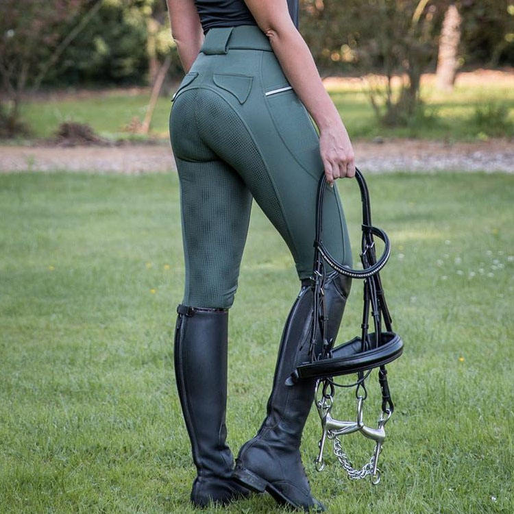 Custom rider wear equestrian breeches front zip laiders horse riding jodphurs