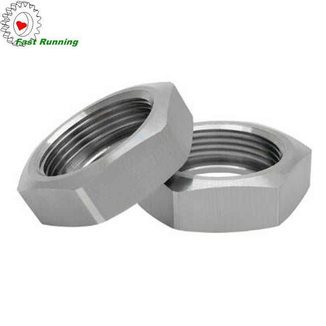 China supplier stainless steel customized cnc turning 50mm hex nut