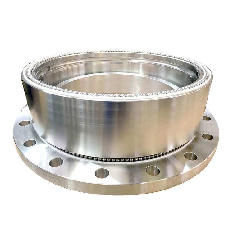 Densen 맞춤형 스테인레스 스틸 중장비 회전 조인트 16 인치 대형 기계 산업
