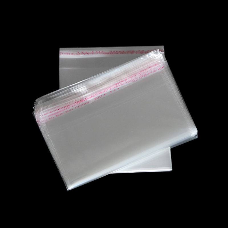 OPP/PE/CPE Plastic bag transparent self-adhesive plastic bag